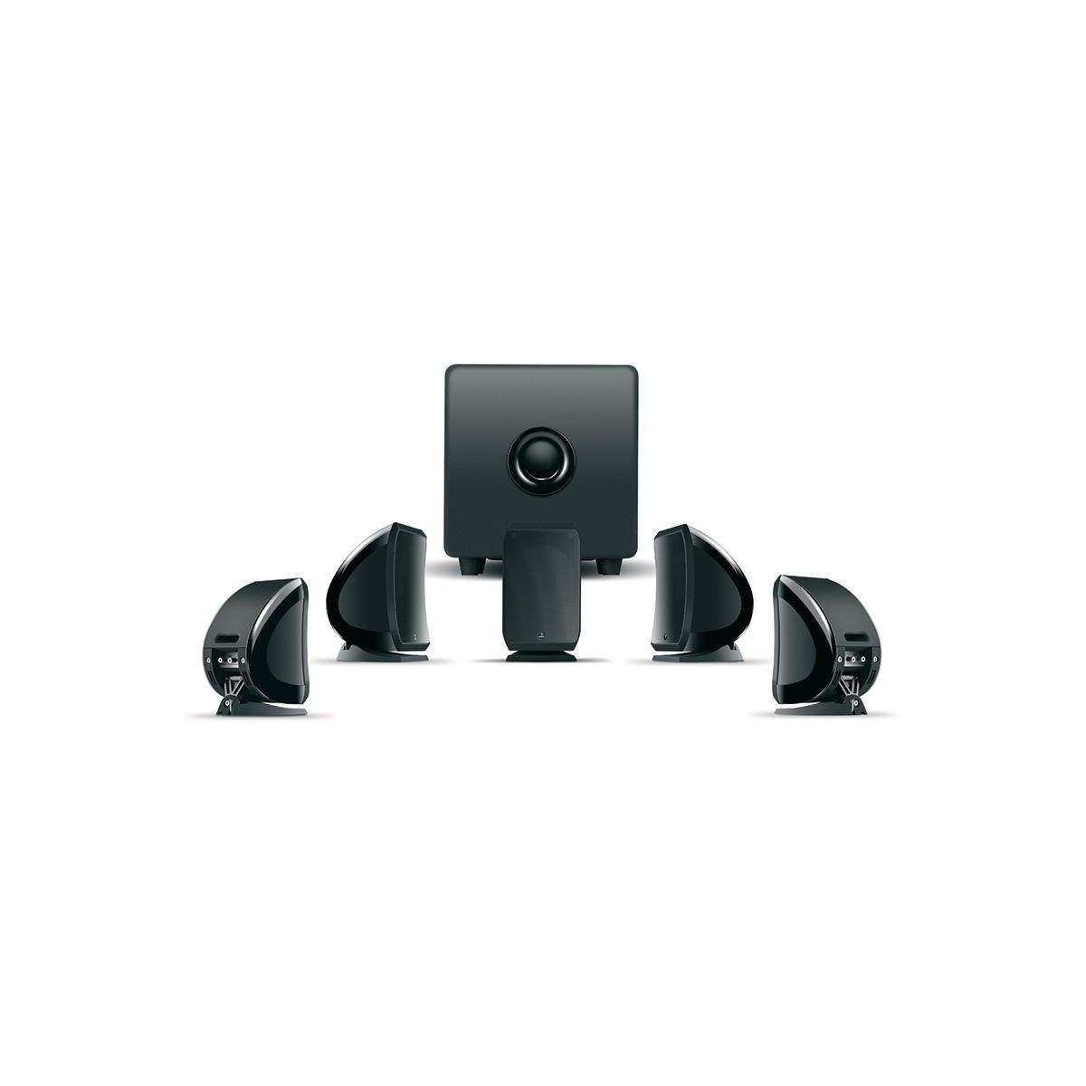 Lautsprecherset SIB 5.1 (CUB3) JET BLACK